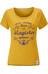 Moon Climbing W's Latin T-Shirt Golden